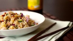 Quinoa with Toasted Sesame