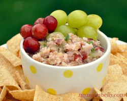 Red, Green Table Grapes Amp Up Salsa