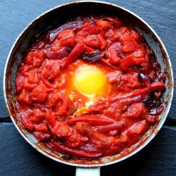Red Pepper Shakshouka