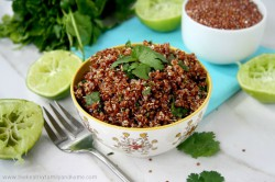Red Quinoa with Cilantro and Lime Recipe