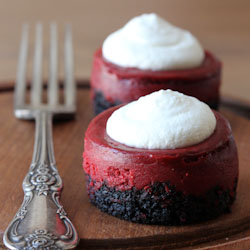 Red Velvet Cheesecakes