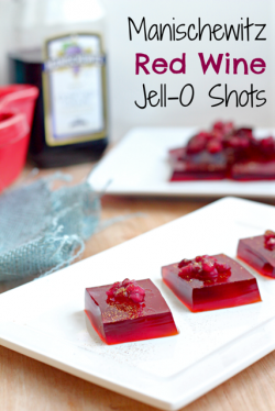 Red Wine Jello Shots Recipe