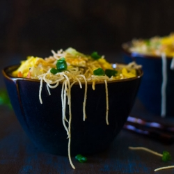 Restaurant Style Chow Mein Noodles Recipe