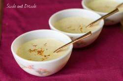Rice Pudding with Saffron