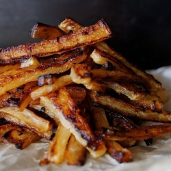 Roasted Daikon Radish Fries Recipe