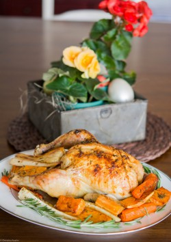 Roasted Lemon and Rosemary Chicken
