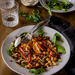 Roasted Moroccan Carrot Salad Recipe