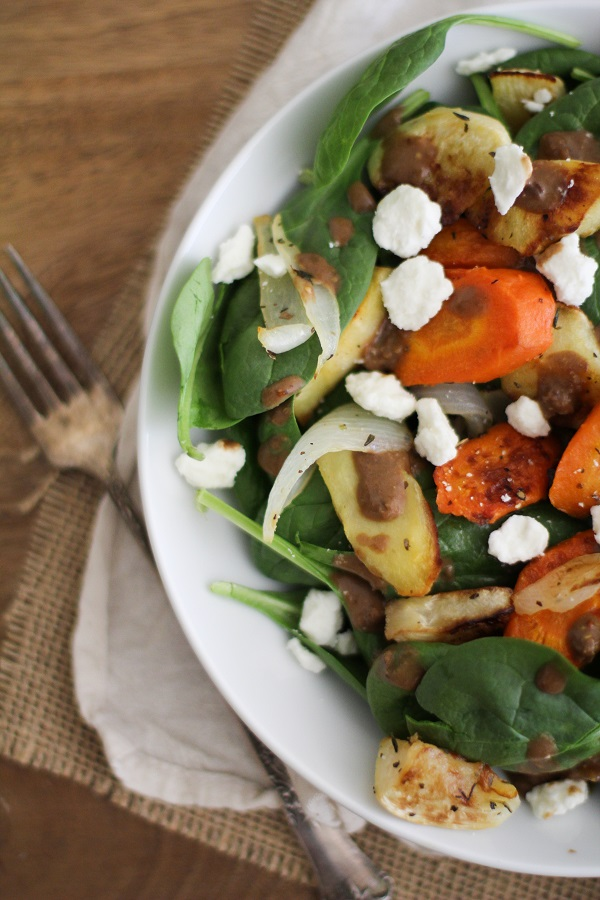 Roasted Root Salad with Balsamic