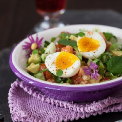 Romaine Salad with Couscous