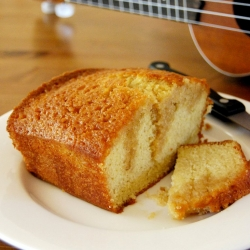 Rum Drenched Vanilla Cake