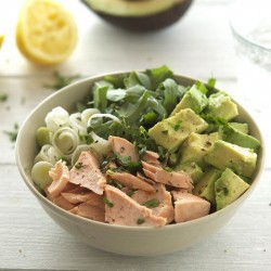 Salmon, Avocado