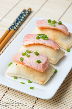Salmon Cheese Air Bread