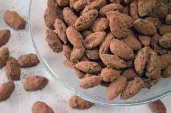 Salted Chocolate Almonds