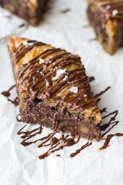 Salted Chocolate Chip Cookie Baklava Recipe