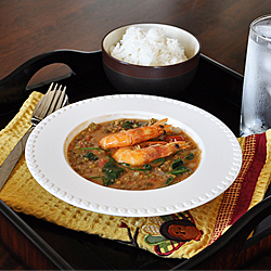 Sauteed Mung Beans with Shrimp