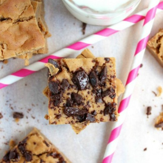 Secret Ingredient PB Blondies