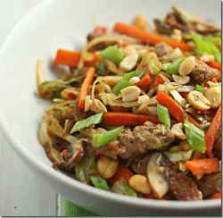 Sesame Garlic Stir Fry