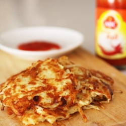 Shredded Potato Pancakes