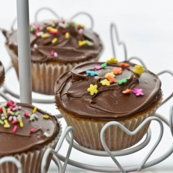 Simple Cupcakes with Nutella