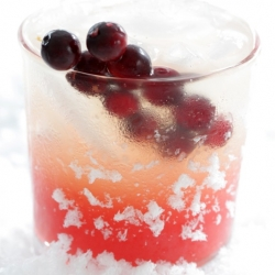 Skinny Cocktail: Cranberry Vanilla