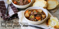 Slow Cooker Beef and Potato Stew Recipe