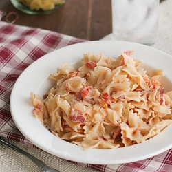 Smoky Tomato Bacon Pasta