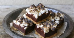 Smores Fudge Bars Recipe