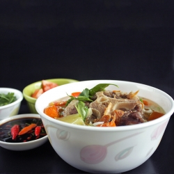 Sop Buntut Indonesian Oxtail Soup