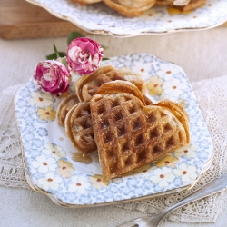 Sourdough Waffles Recipe