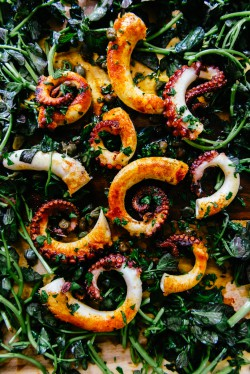 Spanish Octopus with Capers Recipe