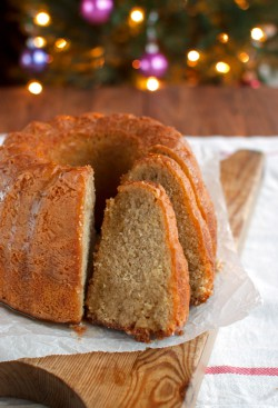 Spiced Honey Syrup Bundt Cake with Mead Recipe