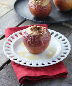 Spiced Oatmeal Baked Apples
