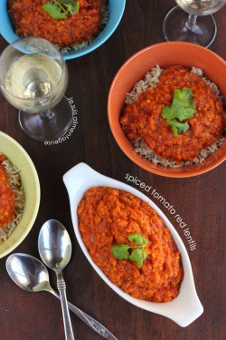 Spiced Tomato Red Lentils