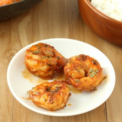 Spicy Beer Shrimp