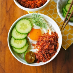 Spicy Dried Shrimp Floss