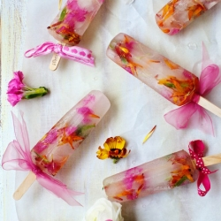 Spring Bouquet Popsicles