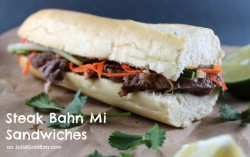 Steak Bahn Mi Sandwiches