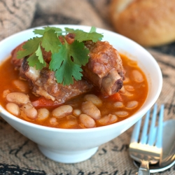 Stewed Pork Ribs and Beans Recipe