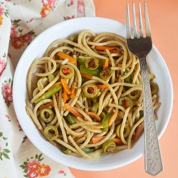 Stir Fried Spaghetti