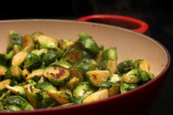 Sweet and Spicy Brussels Sprouts Recipe