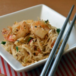 Sweet and Spicy Shrimp Noodles