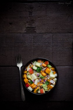 Sweet Potato Apple and Avocado Salad Recipe