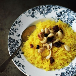Sweet Saffron Rice