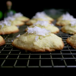 Tequila Lime Cornmeal Cookies