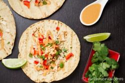 Thai Chicken Tacos Recipe