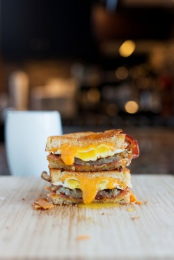 The Breakfast Grilled Cheese