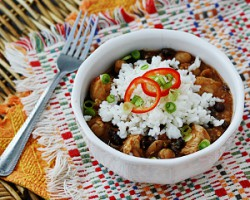 Three Bean Salsa Chicken and Rice