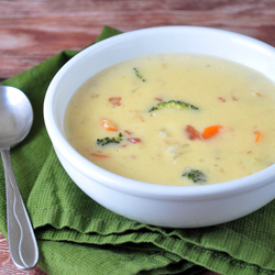 Three Cheese Beer Soup Recipe