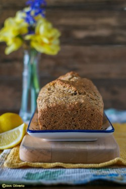 Three Seed Lemon Tea Bread