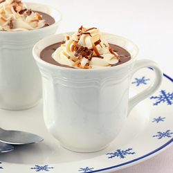 Toasted Coconut Hot Chocolate Recipe